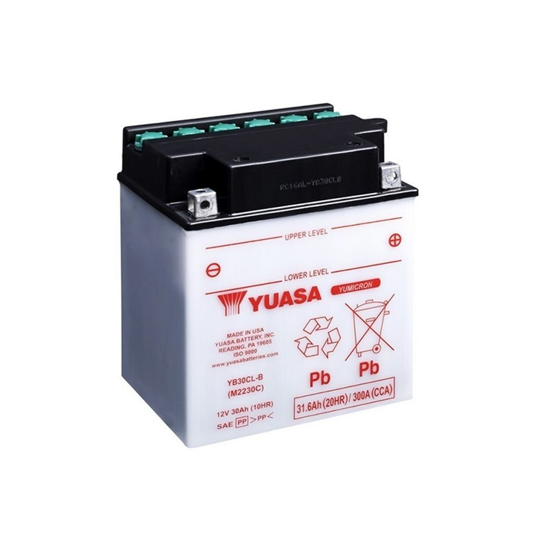 YUASA YB30CL-B 31.6Ah (C20) akumuliatorius