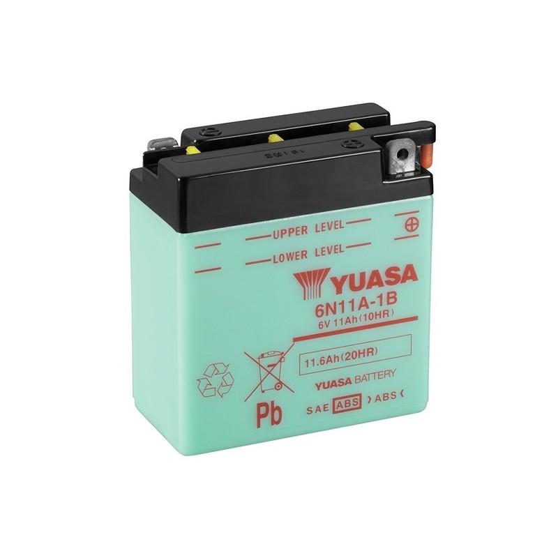 YUASA 6N11A-1B 6V, 11.6Ah (C20) akumuliatorius