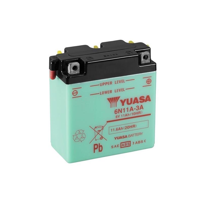 YUASA 6N11A-3A 6V, 11.6Ah (C20) battery