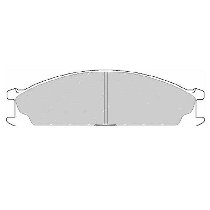 Diskinės stabdžių trinkelės EGT 321458