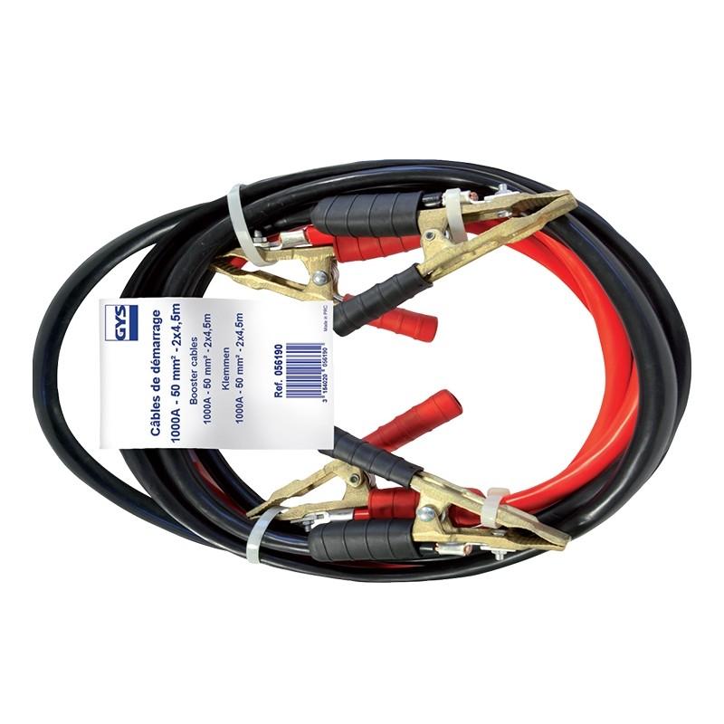 Jumper cables professional GYS (1000A /50mm²-4.5m) PRO