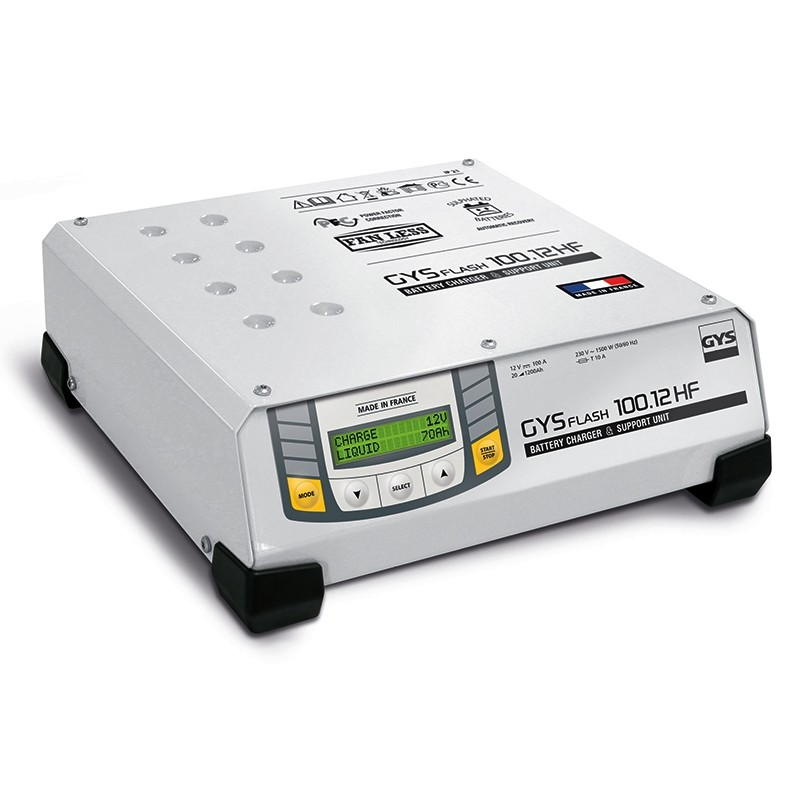 Battery charger GYS-FLASH-100.12HF (SMPS)