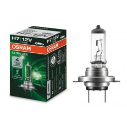 Headlight bulb OSRAM H7 64210ULT Ultra life (1 pcs.)