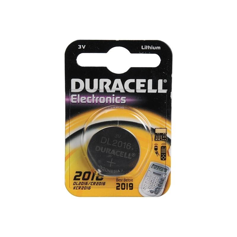 DURACELL CR2016 ELECTRONICS baterija pulteliams