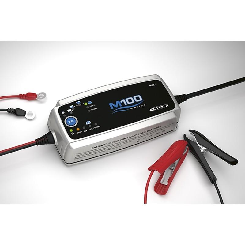 Impulsinis įkroviklis akumuliatoriams CTEK M100