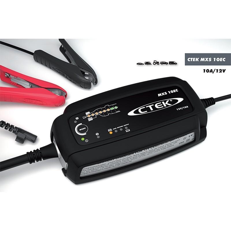 Microprocessor controled battery charger CTEK MXS 10EC