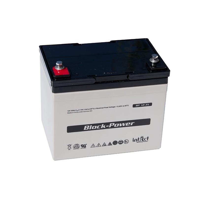 IntAct BP12-35 12V 35Ah AGM VRLA akumuliatorius