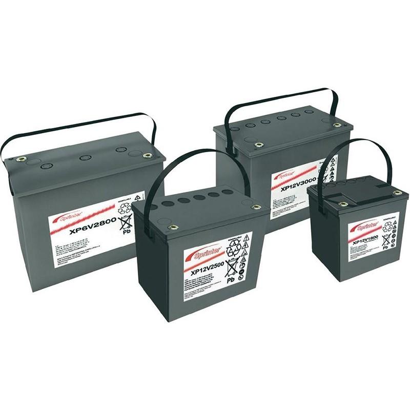 EXIDE Sprinter P/XP batteries