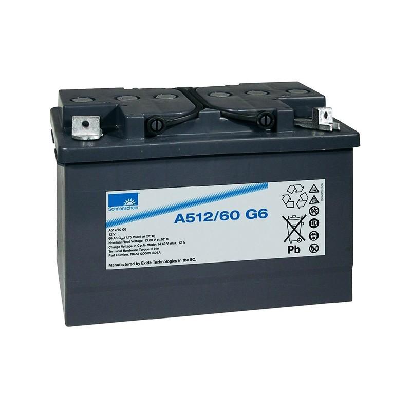 Sonnenschein (Exide) A512/60G6 60Ah battery