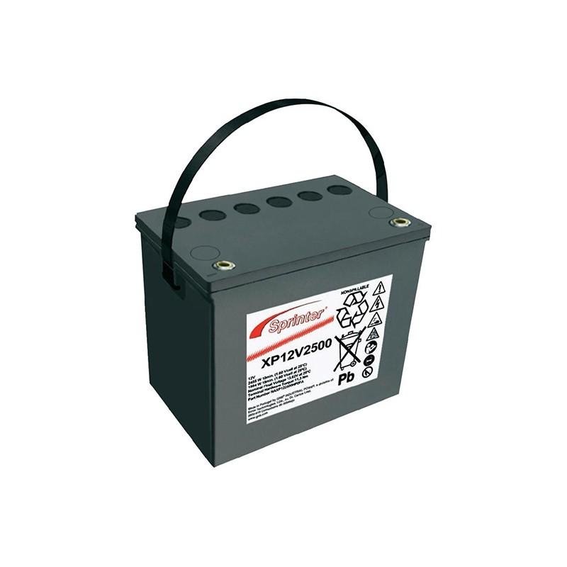 EXIDE Sprinter XP12V2500 battery