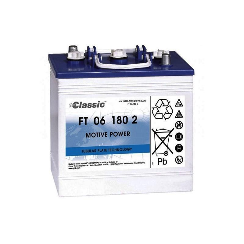 EXIDE Classic FT06180-2 akumuliatorius