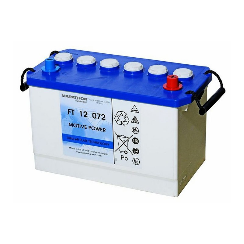 EXIDE Classic FT12072 battery