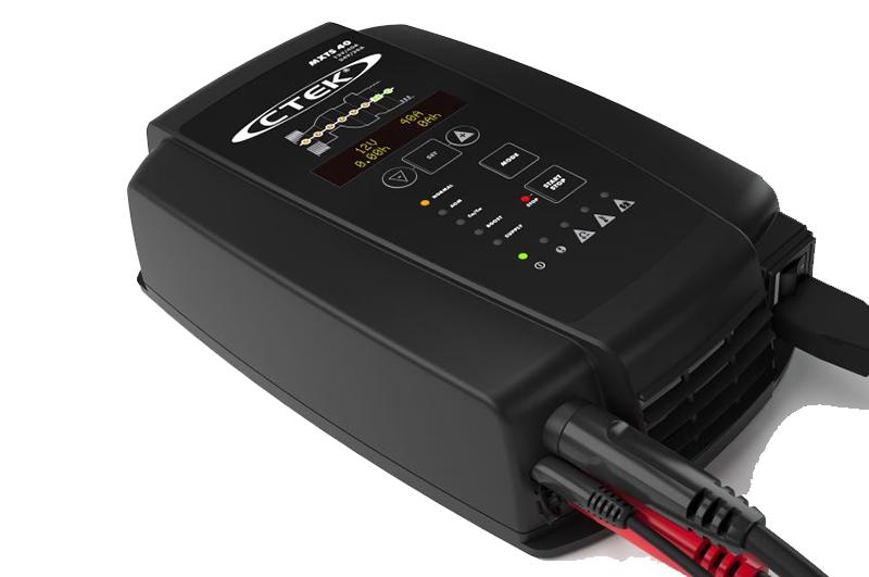 microprocessor controled battery charger ctek mxts 40. Black Bedroom Furniture Sets. Home Design Ideas