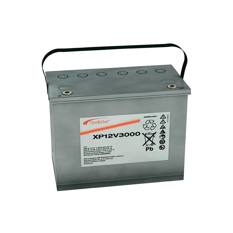 EXIDE Sprinter XP12V3000 battery