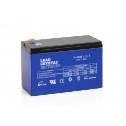 Lead Crystal 6-HCNFJ-7.2 12V 9Ah (C10) AGM VRLA akumuliatorius