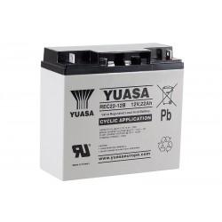 YUASA REC22-12B 12V 22Ah AGM VRLA akumuliatorius