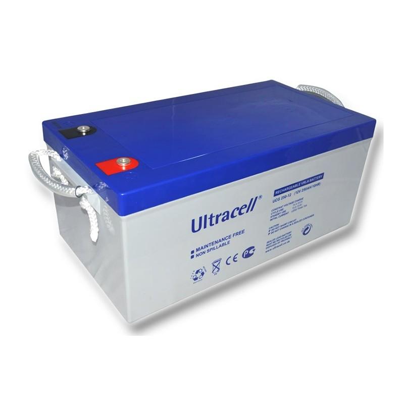 ULTRACELL 12В 260Ач GEL VRLA аккумулятор