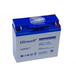 ULTRACELL 12V 22Ah GEL VRLA battery