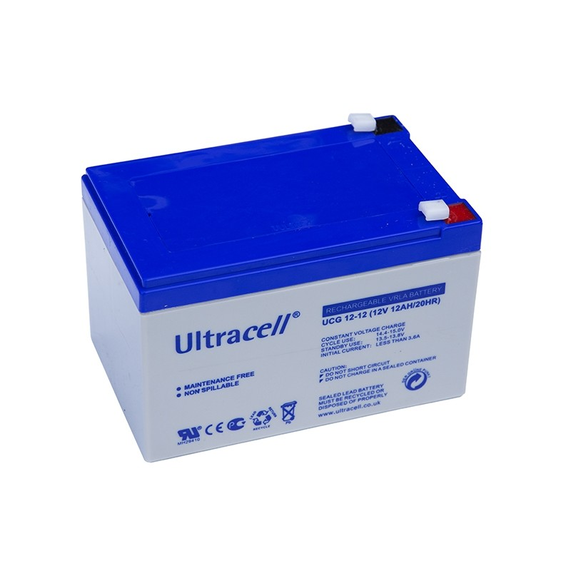 ultracell 12v 12ah gel vrla battery. Black Bedroom Furniture Sets. Home Design Ideas
