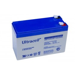 ULTRACELL 12V 7,2Ah GEL VRLA akumuliatorius