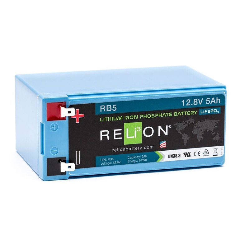 RELION RB5 Lithium Ion deep cycle battery