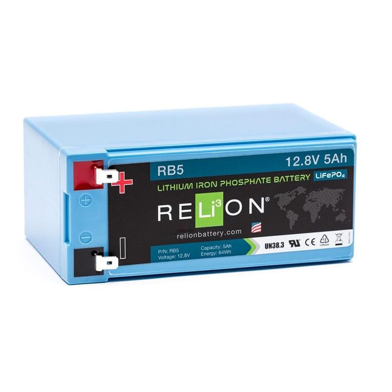 RELION RB5 Lithium Ion gilaus iškrovimo akumuliatorius