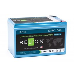RELION RB10 Lithium Ion deep cycle battery