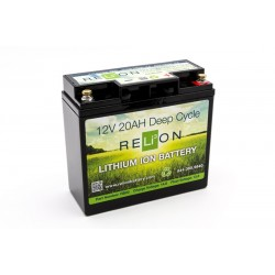 RELION RB20 Lithium Ion deep cycle battery