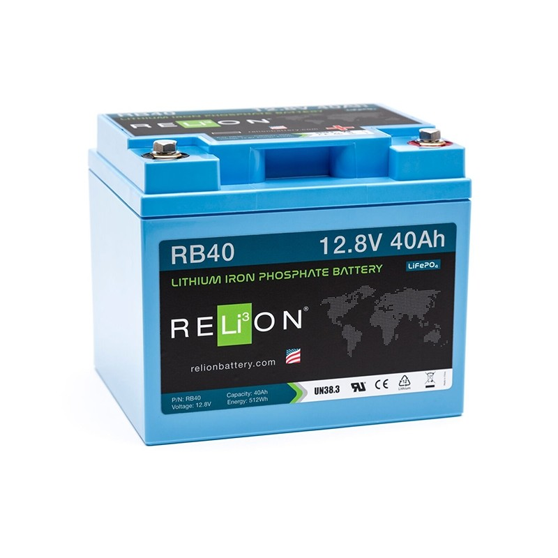 RELION RB40 Lithium Ion deep cycle battery