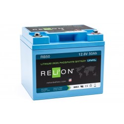RELION RB50 Lithium Ion deep cycle battery