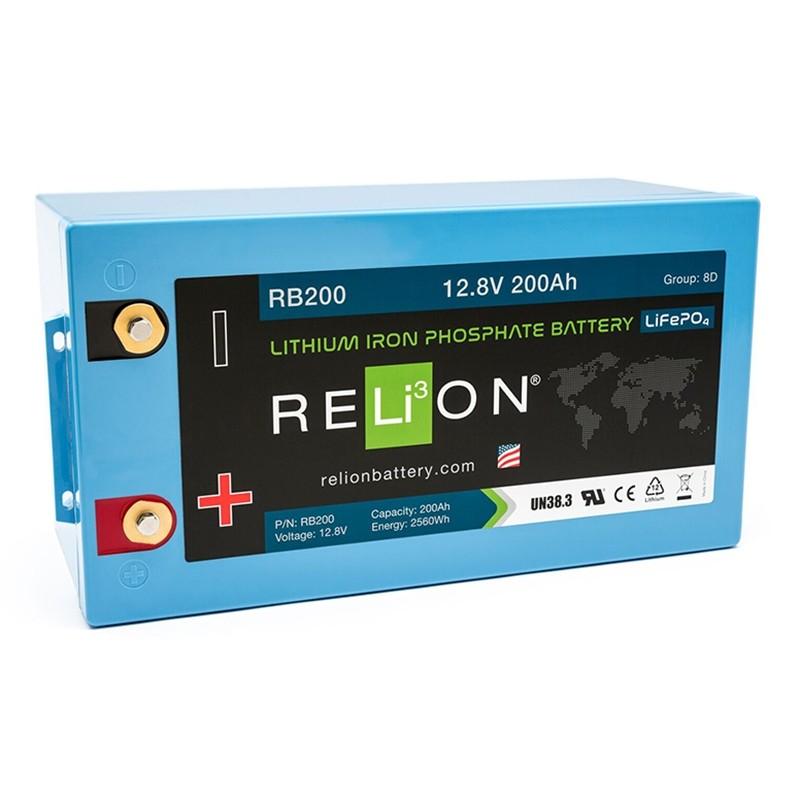 RELION RB200 Lithium Ion gilaus iškrovimo akumuliatorius