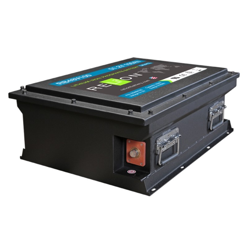 RELION RB48V100 Lithium Ion deep cycle battery
