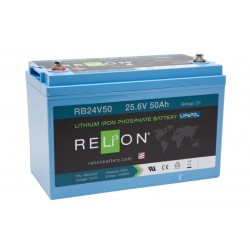 RELION RB24V50 Lithium Ion deep cycle battery