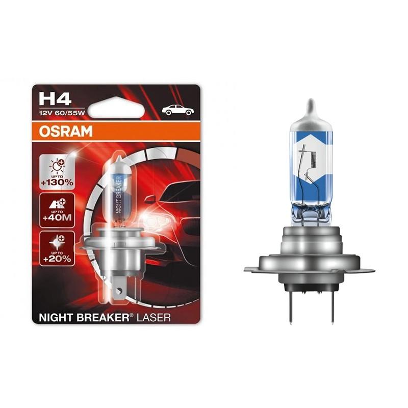 Lemputė OSRAM H4 64193NBL-01B Night breaker Laser (1 vnt.)