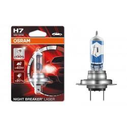 Автомобильная лампа OSRAM H7 64210NBL-01B Night breaker Laser (1 шт.)