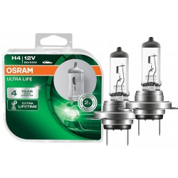 Headlight bulb OSRAM H7 64210ULT-HCB Ultra life  (2 pcs.)