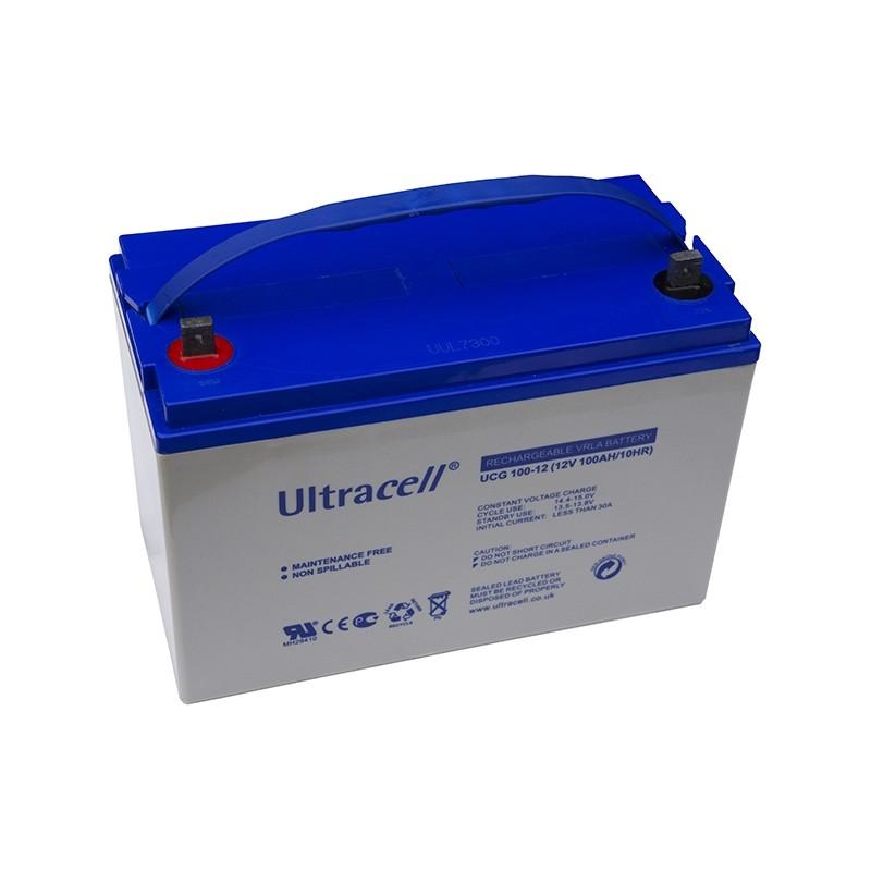 ULTRACELL 12V 100Ah GEL VRLA akumuliatorius