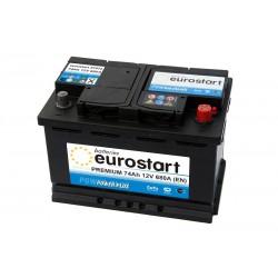 EUROSTART PREMIUM 57412 (574012068) 74Ah akumuliatorius