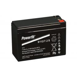 EXIDE S112/7.2SR 12V 7.2Ah AGM VRLA battery