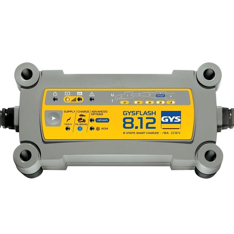Зарядное устройство аккумуляторов GYS FLASH 8.12