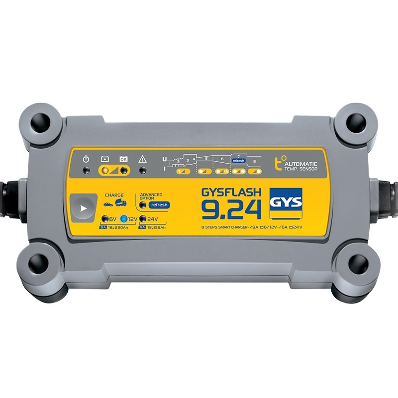 Зарядное устройство аккумуляторов GYS FLASH 9.24