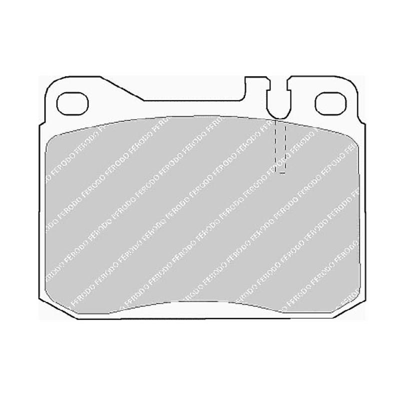 Disk brake pads FTH 143 (EGT 321399)