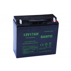 SANTO 6FM-17 17Ач аккумулятор