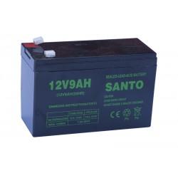 SANTO 6FM9 12V 9Ah AGM VRLA battery