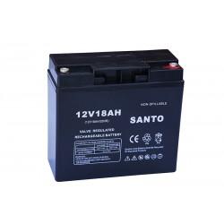 SANTO 6FM18 12В 18Ач AGM VRLA аккумулятор