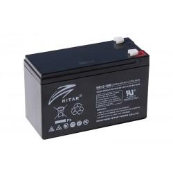 RITAR HR12-38W 12V 9Ah AGM VRLA akumuliatorius