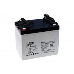 RITAR DC12-75C 12В 75Ач AGM VRLA аккумулятор