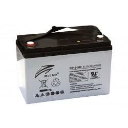 RITAR DC12-100C 12В 100Ач AGM VRLA аккумулятор
