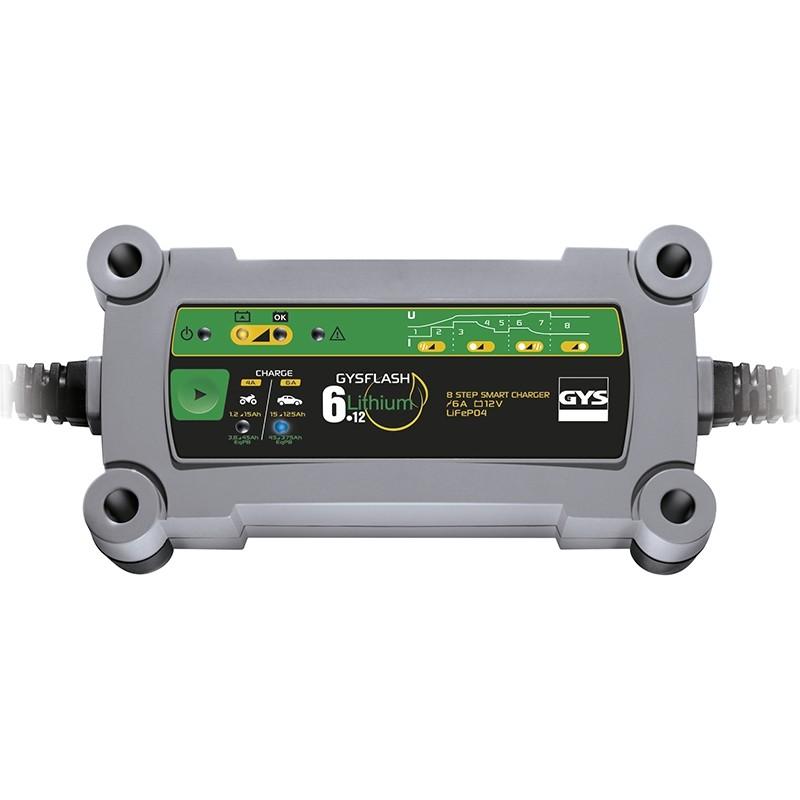 Зарядное устройство аккумуляторов GYS FLASH 6.12 Lithium