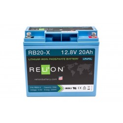 RELION RB20-X Lithium Ion deep cycle battery